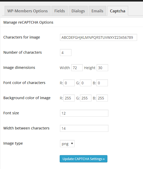 how to add a captcha to a form