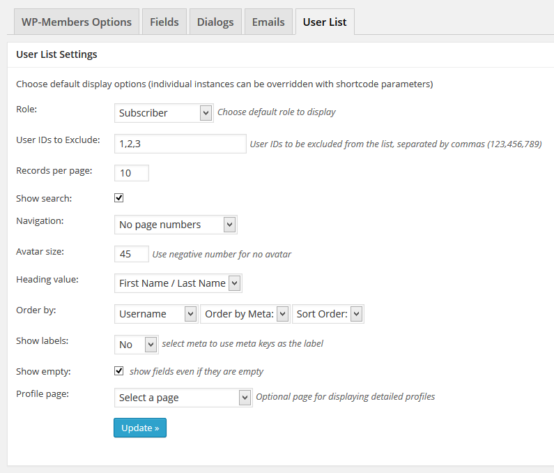 user-list-settings